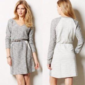 Anthropologie Saturday Sunday Grey Sweater Dress S